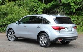Acura MDX 2014 dính án thu hồi