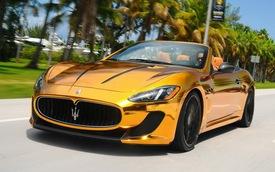 """Bọc vàng"" Maserati GranCabrio MC"