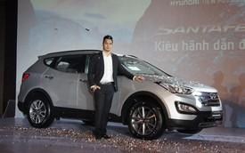 Hyundai Santa Fe 2013 chính thức bán tại Việt Nam, giá từ 1,299 tỉ đồng