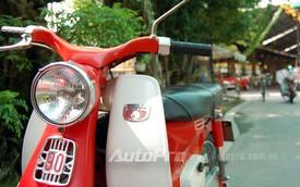 """Những chiếc xe máy """"Quý bà"""" đình đám Sài Gòn một thuở"""