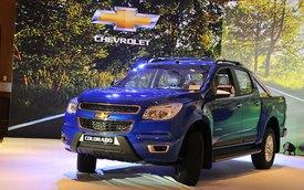 Chevrolet Colorado LTZ chào thị trường Việt giá 729 triệu đồng