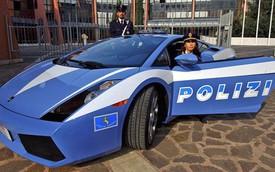 Những chiếc xe cảnh sát hấp dẫn nhất thế giới
