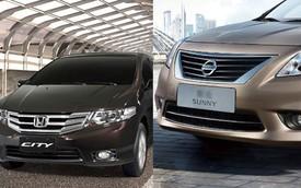Honda sắp ra mắt City, Nissan tung Sunny hâm nóng thị trường Việt