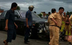 Rolls-Royce Phantom rồng của đại gia Hà Tĩnh đâm chết 2 người