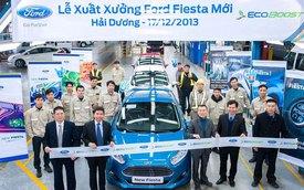 Ford xuất xưởng chiếc Fiesta EcoBoost đầu tiên ở Việt Nam