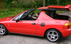 Honda Del Sol: xe mở mui siêu dị