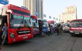 Xe khách tăng giá vé dịp Tết đến 60%