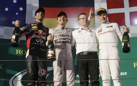 Australian GP: Rosberg ca khúc khải hoàn, Vettel thất bại thảm hại