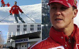 Michael Schumacher khó lòng hồi phục