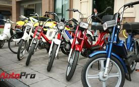 Moped Hà Nội: Hoài niệm bên chiếc xe nhả khói