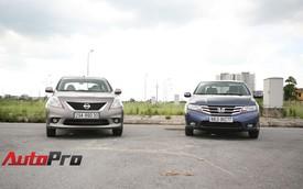 Honda City và Nissan Sunny: Một chín, một mười