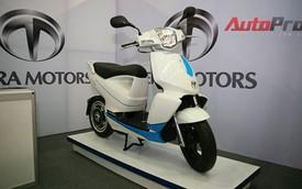 Scooter điện hiện đại của Nhật đến Việt Nam