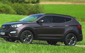 Hyundai ra mắt Santa Fe thế hệ mới và i10 sedan tại Auto Expo 2014