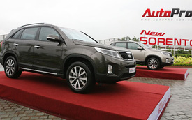 Kia New Sorento 2014 ra mắt, thêm phiên bản máy dầu