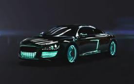 """Audi R8 độ phong cách """"Tron Legacy"""""""