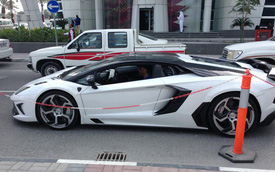 """Siêu xế Mansory Aventador """"No 02"""" xuất hiện tại Qatar"""