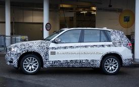 """BMW X5 2014 vào ống kính vì """"hớ hênh"""" đi thử ngoài đường"""