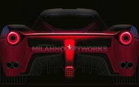 Thêm bản phác họa siêu xe kế nhiệm Ferrari Enzo
