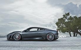 Ferrari F430 tươi mới hơn với bộ la-zăng của ADV.1