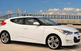Hyundai thu hồi Veloster vì lỗi kính cửa nóc