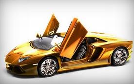 Lamborghini Aventador phiên bản vàng tăng giá lên 10,5 triệu Euro