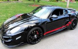 "Porsche Cayman bản độ ""đen quyến rũ"" của Anibal Automotive Design"