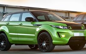 """Kahn """"tút tát"""" lại Range Rover Evoque với màu xanh Lamborghini"""