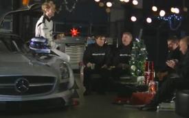 Video: Đón Giáng sinh kiểu Mercedes-AMG