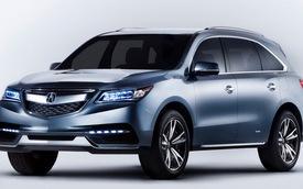 Acura MDX 2014 chính thức ra mắt