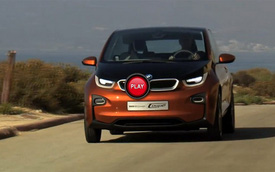 Video: BMW lại khoe i3 Coupe