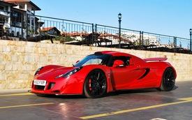 Ngắm siêu xe Hennessey Venom GT đỏ rực tại Bulgaria