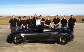 Video: Hennessey Venom GT tăng tốc từ 0-300 km/h