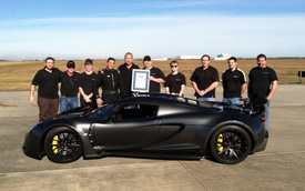 Hennessey Venom GT lập kỷ lục Guinness về khả năng tăng tốc