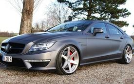 Mercedes-Benz CLS63 AMG: Khỏe khoắn hơn với bộ la-zăng mới