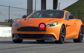 Sau vô-lăng siêu xe Aston Martin Vanquish