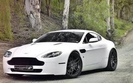 Aston Martin V8 Vantage tinh tế, thể thao với bộ la-zăng Dieci-M của Forgiato