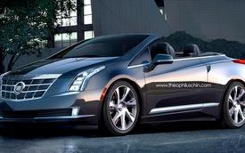 Phác họa Cadillac ELR Convertible - xe hybrid mui trần