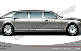 Kéo dài và bọc thép Bentley Mulsanne