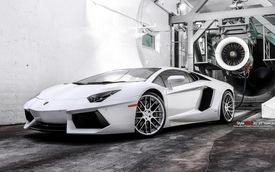 Một siêu xe Lamborghini Aventador đẹp tinh khôi