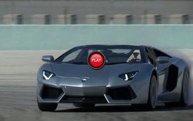 Sau vô-lăng Lamborghini Aventador Roadster