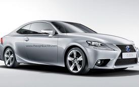 Phác họa Lexus IS Coupe