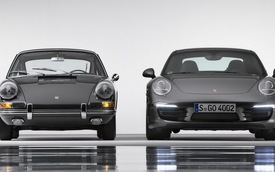 Porsche 911 kỷ niệm sinh nhật lần thứ 50