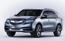 Acura MDX 2014 đã sẵn sàng đi vào sản xuất