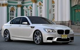 Phác họa sedan thể thao BMW M7