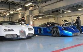 Bugatti Veyron và Maserati MC12 Corsa đua nhau khoe sắc tại Fuji Speedway