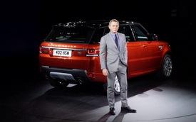 """""""Điệp viên 007"""" bỏ túi 1 triệu đô cho màn ra mắt Range Rover Sport"""