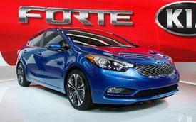 Kia Forte Sedan 2014 có giá từ 15.700 Đô la Mỹ