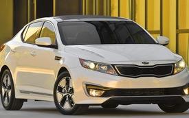Công bố giá bán Kia Optima Hybrid 2013