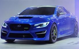 Subaru WRX Concept chính thức ra mắt