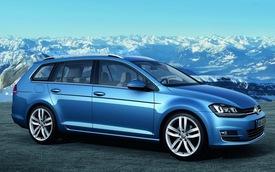 Volkswagen Golf Variant: Xe gia đình siêu tiết kiệm nhiên liệu